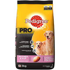 Pedigree Professional Starter Mother & Pup Premium Dog Food- 3 KG