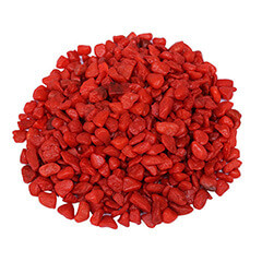 Natural Red Decorative Stone Aquarium decoration