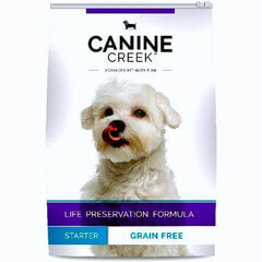 Canine Creek Grain Free Starter Dog Food- 4 KG