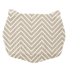Chevron Cat Head Litter Mat