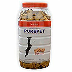PUREPET BISCUITS CHICKEN FLAVOR 500GM