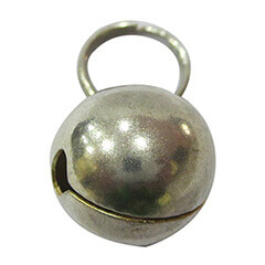 Cat Bell Silver Colour