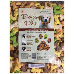 Dog's Day Multigrain With Chicken Puppy Dog Biscuits 1 KG
