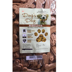 Dog's Day Real Chicken Dog Biscuits 1 KG