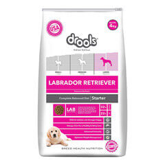 Drools Labrador Retriever Starter Premium Dog Food- 4 KG