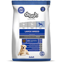 Drools Large Breed Adult Premium Dog Food- 12 KG