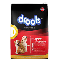 Drools Puppy Chicken and Egg Dog Food 3 Kg
