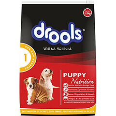 Drools Chicken and Egg Puppy Nutrition Dog Food 1.2 KG