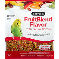 Fruit Blends Flavor Food for Small Birds