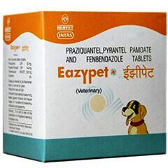 Intas Eazypet Dewormers For Dog & Cat 10 Tablets
