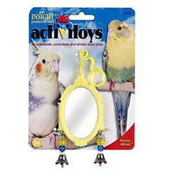 JW PET COMPANY Activitoy Bird Toy Fancy Mirror