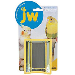 JW PET COMPANY Activitoy Bird Toy Hall Of Mirrors