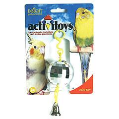 JW Pet Company Activitoy Disco Ball Small Bird Toy Colors Vary
