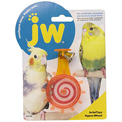 JW Pet Company Activitoys Hypno Wheel Bird Toy