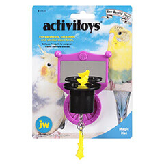 JW Pet Company Activitoys Magic Hat Bird Toy