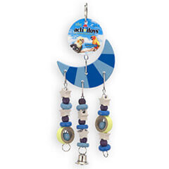 JW Pet Company Activitoys Moon Toy Triple Bird Toy Small