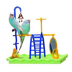 JW Pet Company Activitoys Play Gym Bird Toy