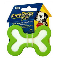 JW Pet Company Good Breath Bone Dog Toy Small Colors Vary