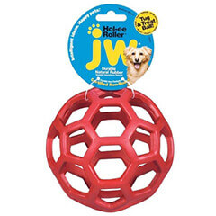 JW Pet Company Hol-ee Roller X Extreme 5 Dog Toy, 12.7 cm (Colors Vary)