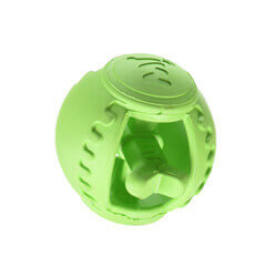 JW Pet Company Slide N Snacks Ball Chew Toy Colors Vary