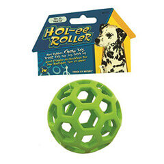 JW Pet the Hol-ee Roller Dog Toy(Medium)