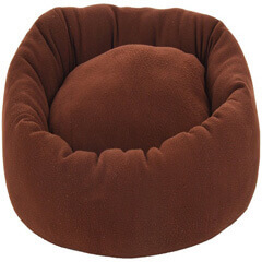 Luxurious Polyester Filled Soft Export Quality Dog Bed