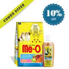 ME-O TUNA CAT FOOD 1.2KG + Pet Lovers Neemz Dog & Cat Shampoo 500ML