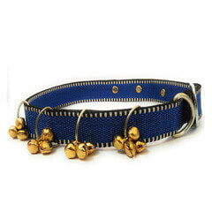 Nylon Dog Collar With Bells