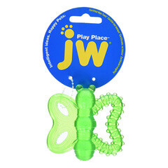 JW Playplace Butterfly Teether  Multicolor