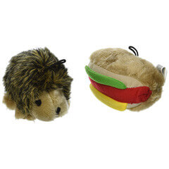 Booda Corporation Aspen DAP07549 Soft bite Hottdog-Hedgehog Small 2-Pack