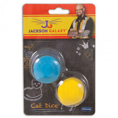 Jackson Galaxy Cat Dice Rubber & Soft Pack