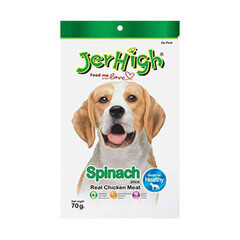 Jerhigh Spinach Stick Dog Treat 70gm