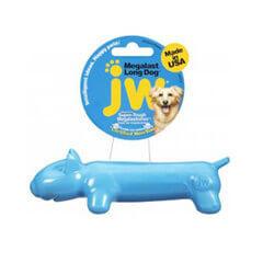 JW Megalast Long Dog Medium Blue Pack
