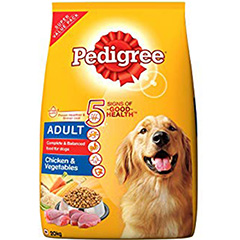 Pedigree Adult Dry Dog Food, Chicken & Vegetables 20 kg
