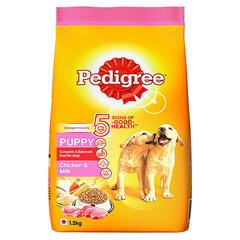 Pedigree Puppy Dog Food Chicken and Milk- 1.2 KG