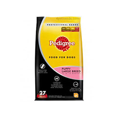 Pedigree Professional Puppy Large Breed Premium Dog Food- 3 KG