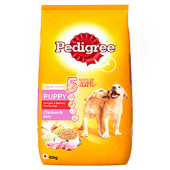 Pedigree Puppy Chicken & Milk Dog Food 10 kg