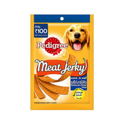 Pedigree Dog Treats- Meat Jerky Stix Barbeque Chicken 80 gm Pouch