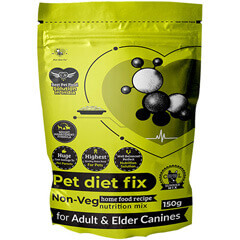 Pet Diet Fix Non Veg home food recipe- Nutrition Mix for Adult & Elder Canines 150gm