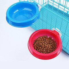 Cage Clamp Food Water Eating Bowl