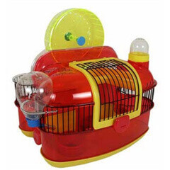 JW Pet Company Petville Habitats Sky Wheel Small Animal Habitat
