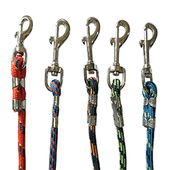 Round Dog Leash Medium Multi color