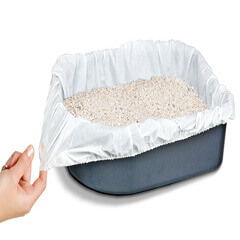 Elastic Cat Litter Box Liners