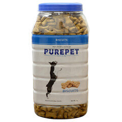 Purepet Biscuits With Milk Flavor 500g