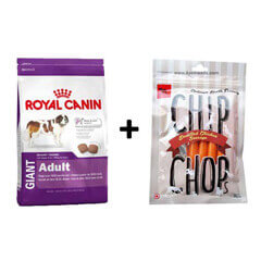 ROYAL CANIN GIANT ADULT 4KG+Free Dog Snacks