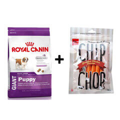ROYAL CANIN GIANT PUPPY 4KG+Free Dog Snacks