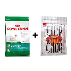 ROYAL CANIN MINI JUNIOR 4KG+Free Dog Snacks