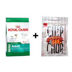 ROYAL CANIN MINI ADULT 4KG+Free Dog Snacks