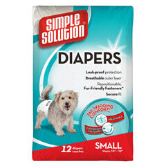 Simple Solution Disposable Diaper - Small