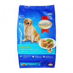 SMARTHEART CHICKEN & LIVER ADULT 1.5 KG DOG FOOD